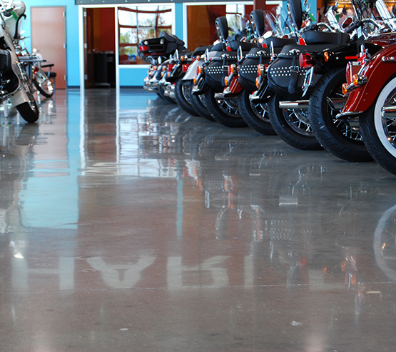 polished concrete flooring solutions